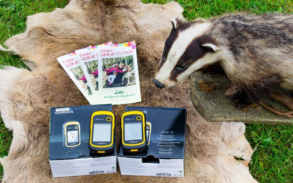 GPS-Geräte Wildpark-Akademie